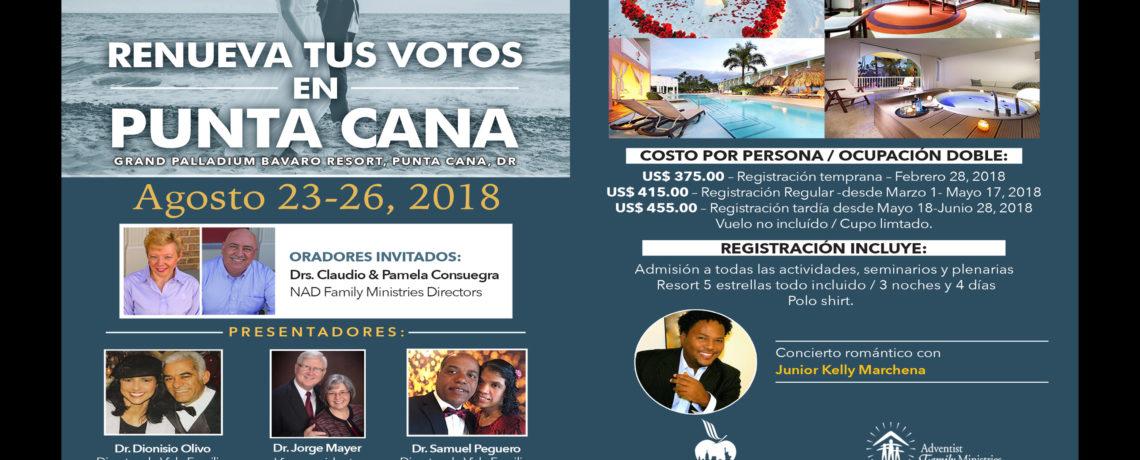Renova tus Votos en Punta Cana